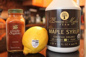 6 dieettrends - Master cleanse